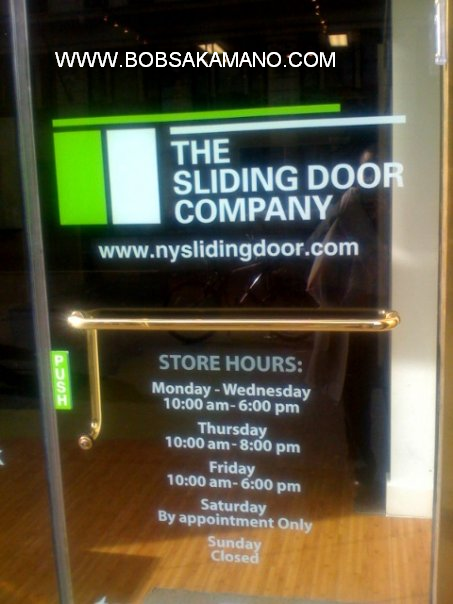 Sliding Door Company New York 453 x 604